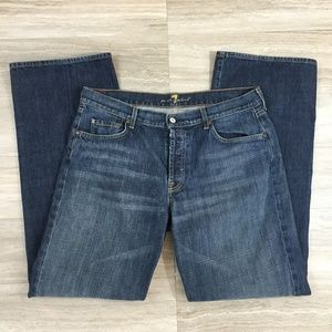 Men's 7 For All Mankind Relaxed Jeans - size 36